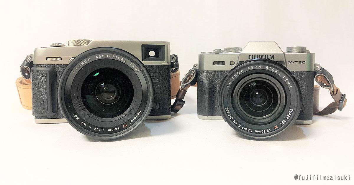 富士フイルム製デジタルカメラ