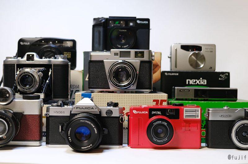 富士フイルム製フィルムカメラ
